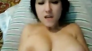 POV amateur tight anal (very vocal GF) + anal cumshot